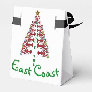 Caixinha De Lembrancinhas Personalize o saco do deleite do Natal da costa