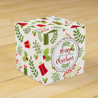 Caixinha De Lembrancinhas Presentes bonitos do roteiro do Natal