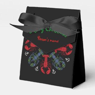 Caixinha De Lembrancinhas Saco do deleite de N.S. Natal da âncora do floco