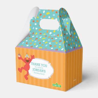 Caixinha De Lembrancinhas Sesame Street   Elmo - aniversário do cupcake &