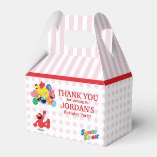 Caixinha De Lembrancinhas Sesame Street | Elmo e amigos - balões do