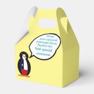 Caixinha De Lembrancinhas Sr. de fala chileno Pinguim