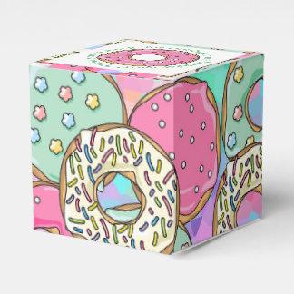 Caixinha De Lembrancinhas Tema Pastel da festa de aniversário das rosquinhas