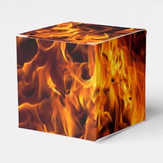 Caixinha De Lembrancinhas Teste padrão do fogo e da chama