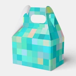 Caixinha De Lembrancinhas Teste padrão multicolorido da arte do pixel
