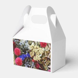Caixinha De Lembrancinhas Variedade de flores secadas
