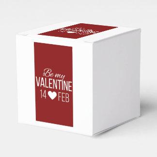 Caixinha De Lembrancinhas Vermelho e branco seja meu coração dos namorados