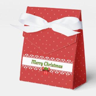 Caixinha Feliz Natal, arcos e bolinhas