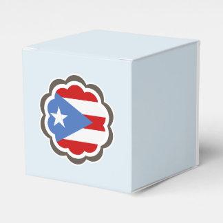 Caixinha Flor porto-riquenha da bandeira