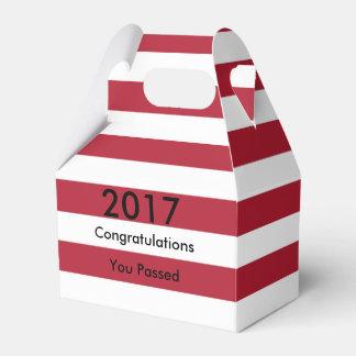 Caixinha Graduação da bandeira americana