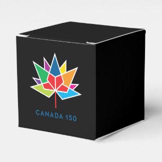 Caixinha Logotipo do oficial de Canadá 150 - multicolorido