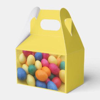 Caixinha Multi ovos da páscoa coloridos festivos