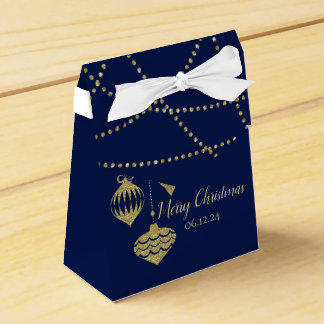 Caixinha O brilho elegante do falso do Natal Ornaments o