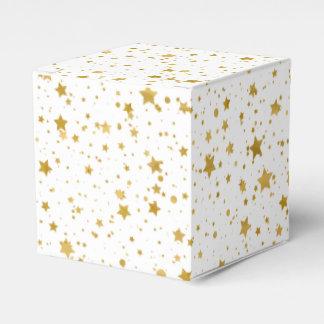 Caixinha Ouro Stars2 - Branco puro