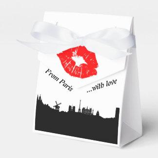 Caixinha Paris Party Favor gift box