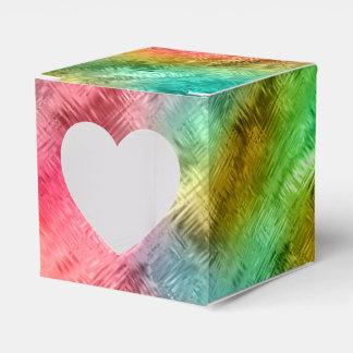 Caixinha Teste padrão colorido do cristal