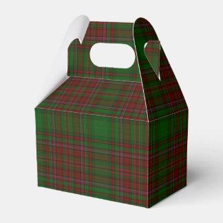 Caixinha Xadrez vermelha & verde clássica tradicional do