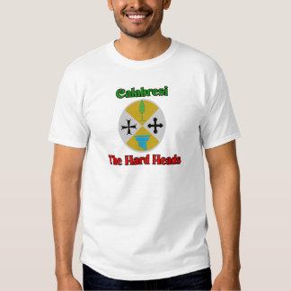 Calabresi as cabeças do duro camiseta