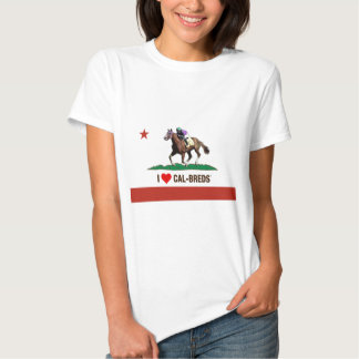 CalBredHEARTLRG.tif T-shirt