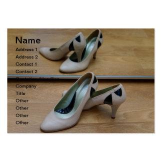 Calçados Modelo Cartoes De Visita