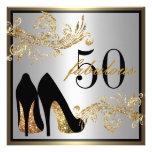 Calçados da dança - 50th convite fabuloso do anive