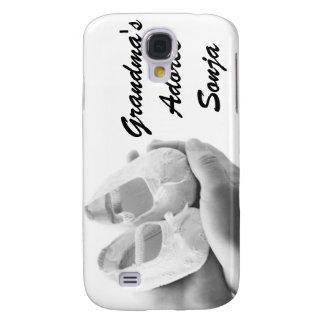 Calçados de bebê embalados capas personalizadas samsung galaxy s4