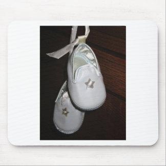 Calçados de bebê mouse pad