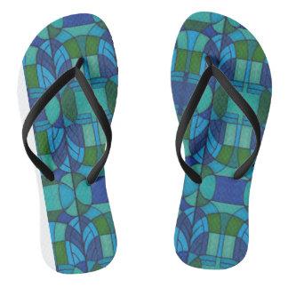 Calçados do chá da sandália da tanga da praia do