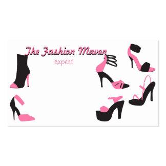 Calçados dos calçados dos calçados! cartão de visita