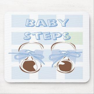 Calçados Mousepad do bebé