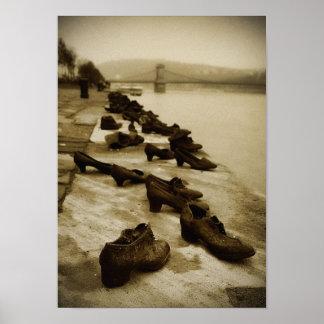 Calçados no Danúbio Poster