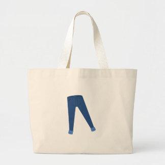 Calças de ganga bolsas