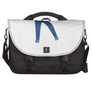 Calças de ganga maleta para laptop