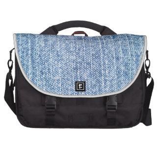 Calças de ganga maletas para laptop