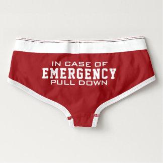 Calcinha Boyfriend A esposa do bombeiro | puxa em caso de urgência