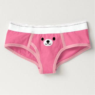 Calcinha Boyfriend Resumos americanos do roupa das mulheres: Urso de