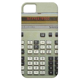 Calculadora do geek capa barely there para iPhone 5