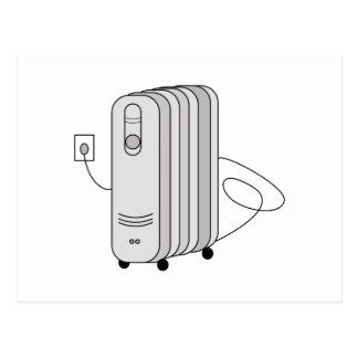 Calefator elétrico cartão postal