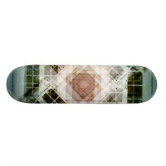 Caleidoscópio da foto shape de skate 18,7cm