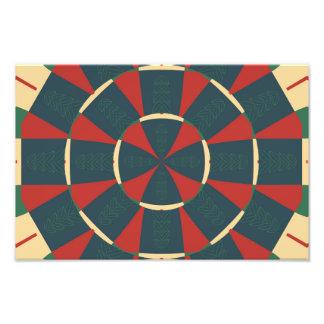 Caleidoscópio de Mandalaic Impressão De Foto