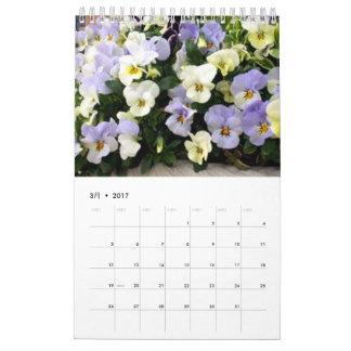 CALENDÁRIO 植物カレンダー2017