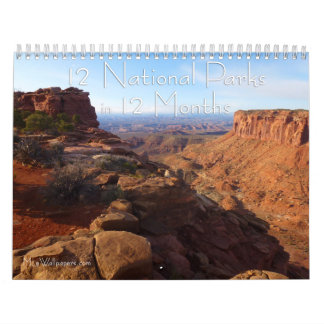 Calendário 12 parques nacionais em 12 meses, 4o edição