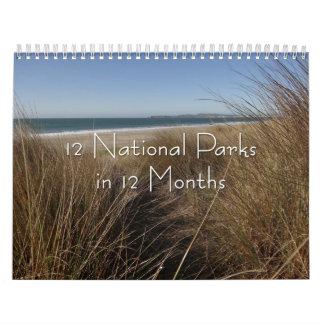 Calendário 12 parques nacionais em 12 meses, 6a edição
