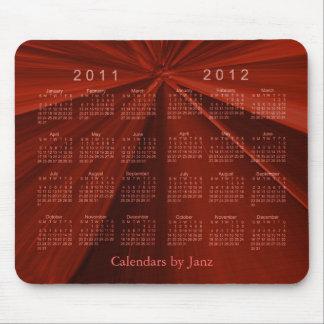 Calendário 2011-2012 de 2 anos mousepad