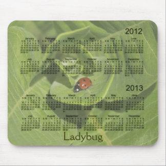 Calendário 2012-2013 do joaninha Mousepad