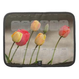 Calendário 2014 das tulipas do primavera agenda