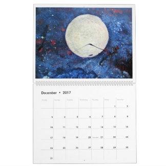 Calendário 2017 da arte por Diane clemente