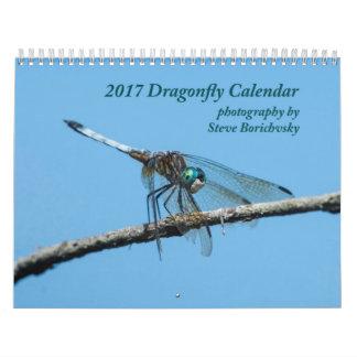 Calendário 2017 da libélula