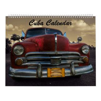 Calendário 2017 de Cuba