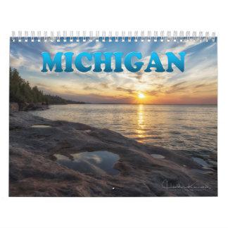 Calendário 2017 de Michigan
